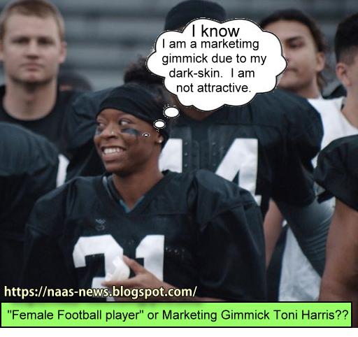 Toni Harris Football player