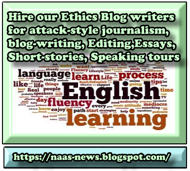 Ethics News Blog Services
